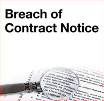 Breach of Contract and Lawsuits