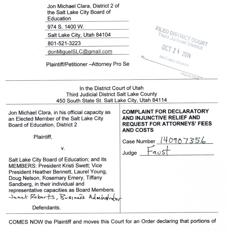 Court Petition